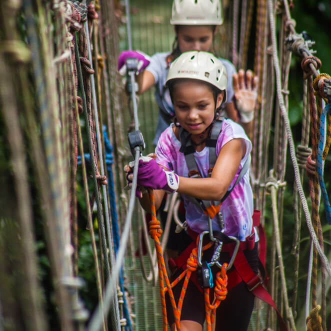 girl-on-vanuatu-zipline-rope-bridge